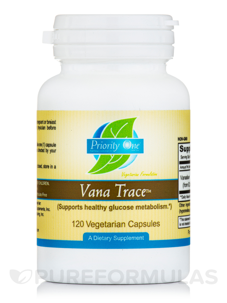 Vana Trace - 120 Vegetarian Capsules