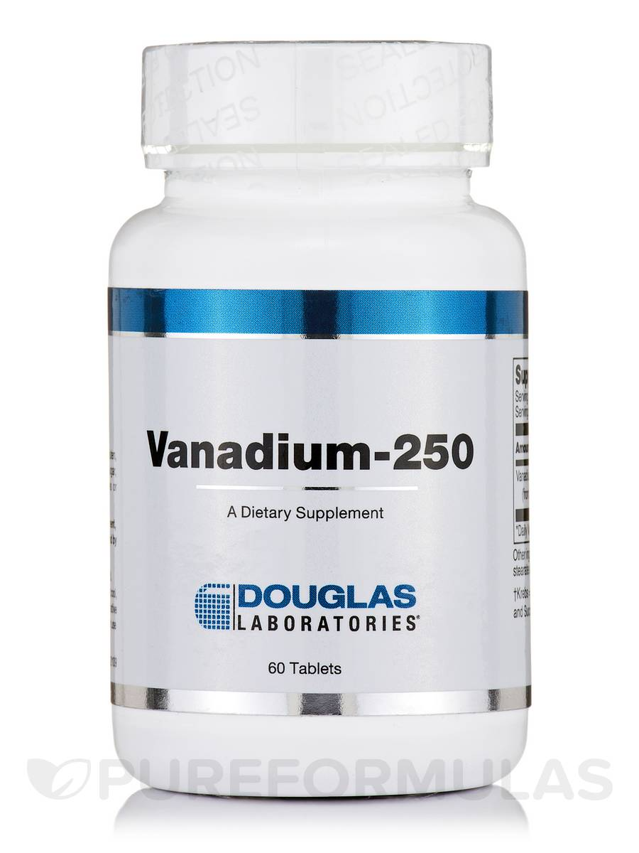 Vanadium-250 - 60 Tablets