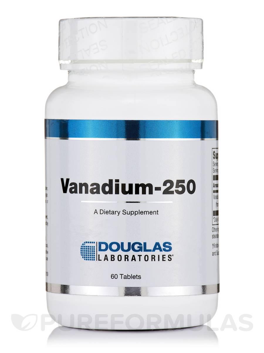 Vanadium-250 - 60 Tablets