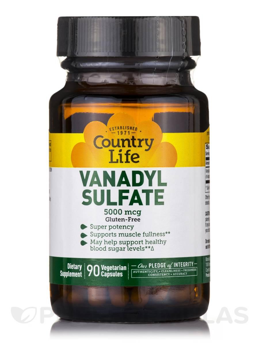 Vanadyl Sulfate 5000 mcg - 90 Vegetarian Capsules