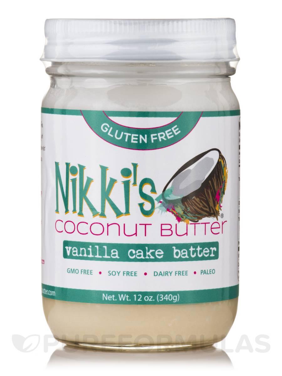 Vanilla Cake Batter Coconut Butter - 12 oz (340 Grams)