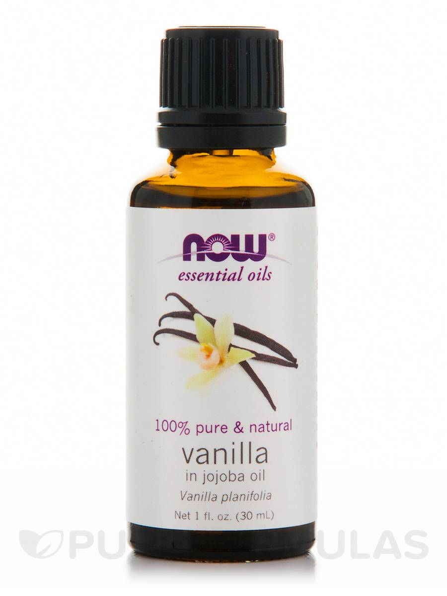 NOW® Essential Oils - Vanilla Oil - 1 fl. oz (30 ml)