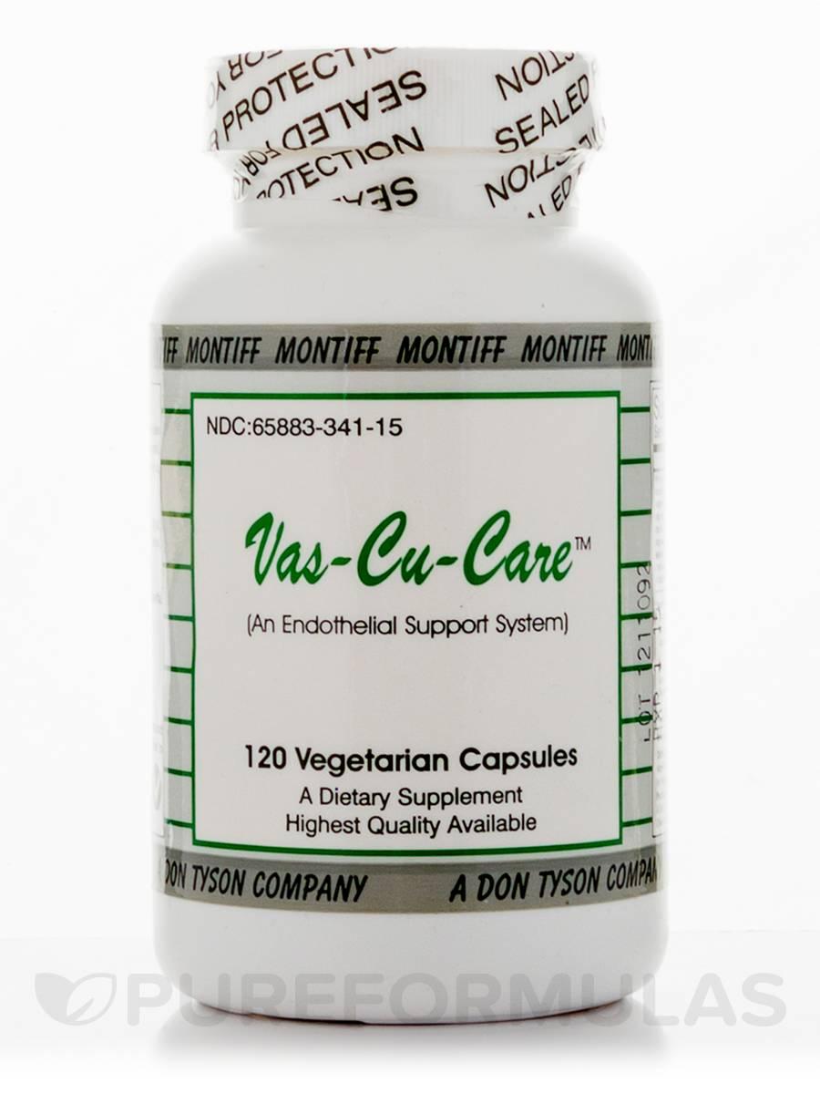 Vas-Cu-Care - 120 Vegetarian Capsules