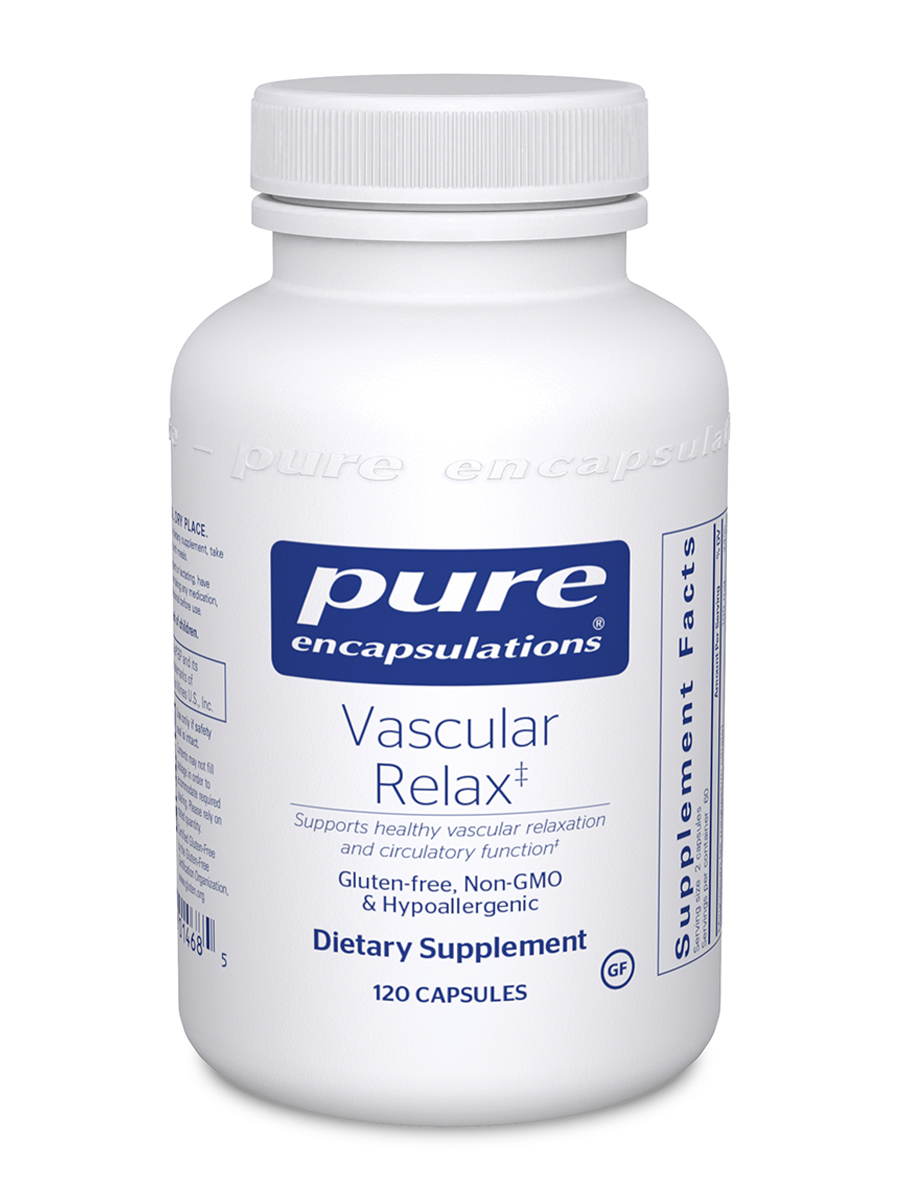 Vascular Relax BP - 120 Capsules