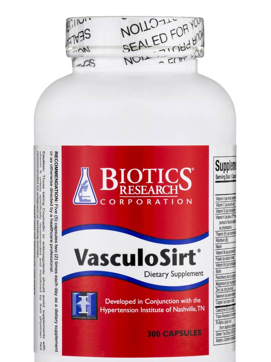 VasculoSirt - 300 Capsules