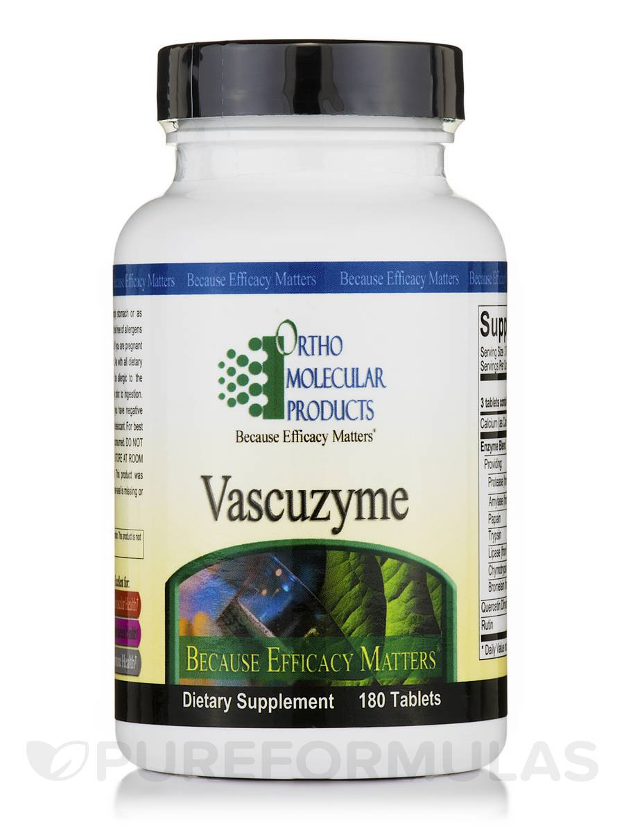 Vascuzyme - 180 Tablets