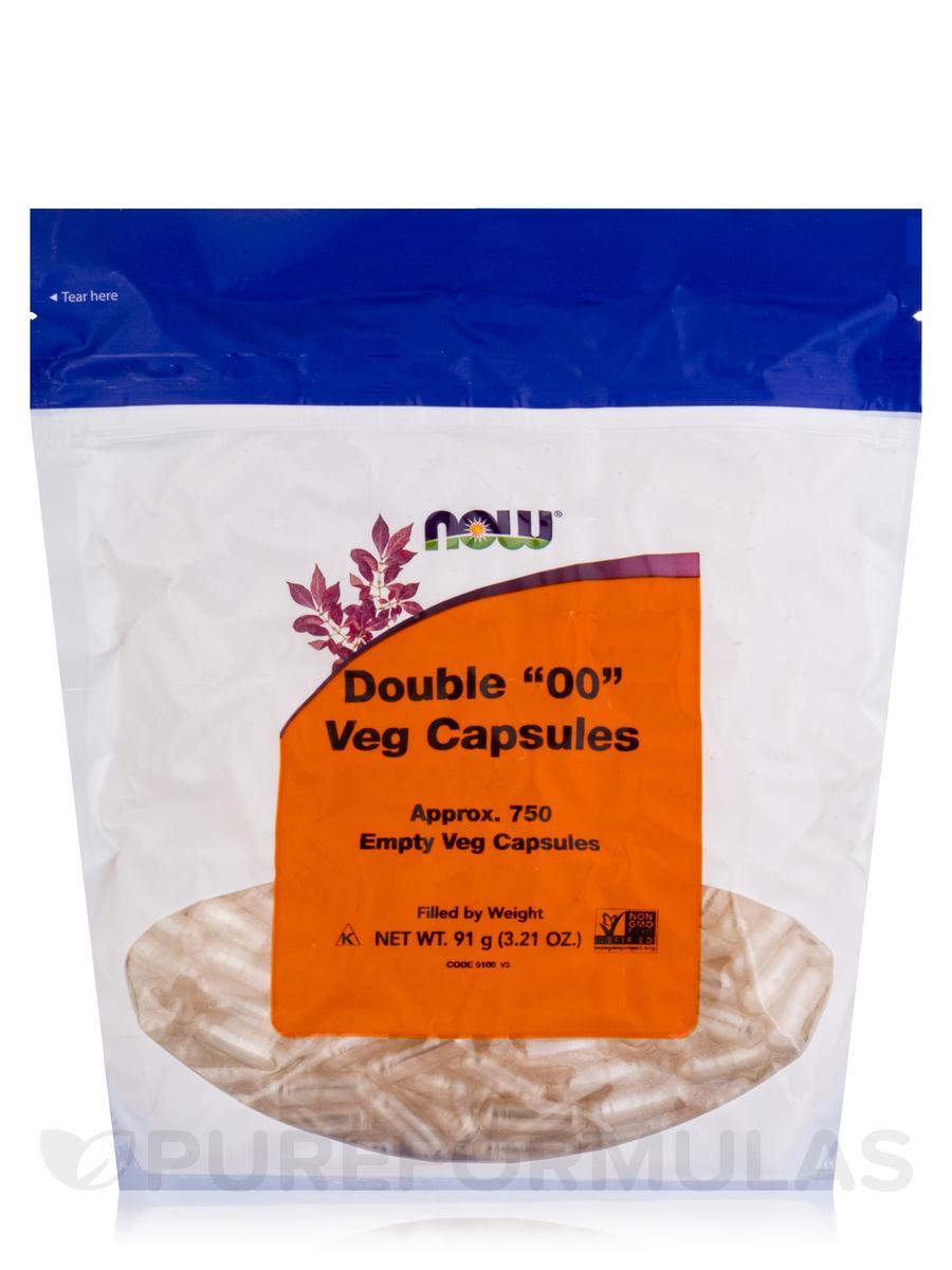 Vcaps '00' Empty - 750 Capsules