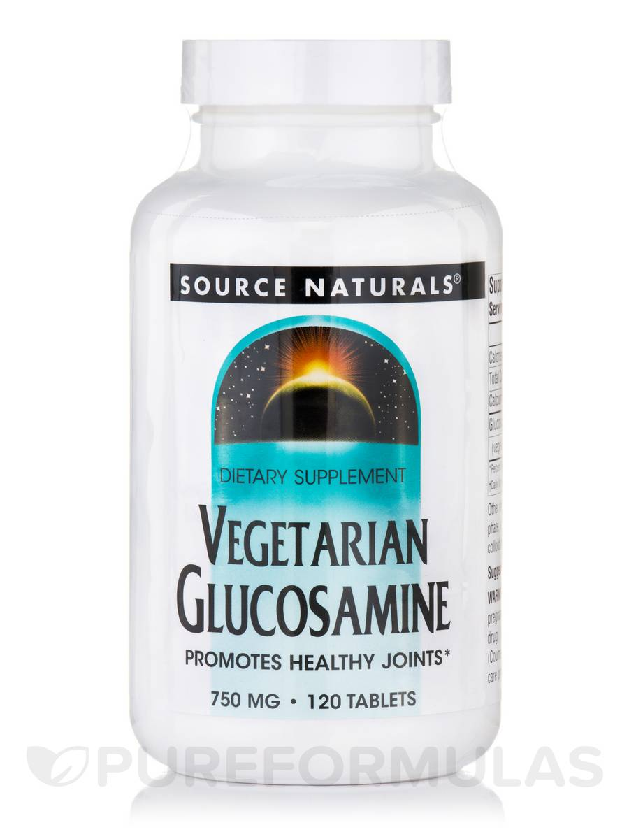 Vegetarian Glucosamine 750 mg - 120 Tablets