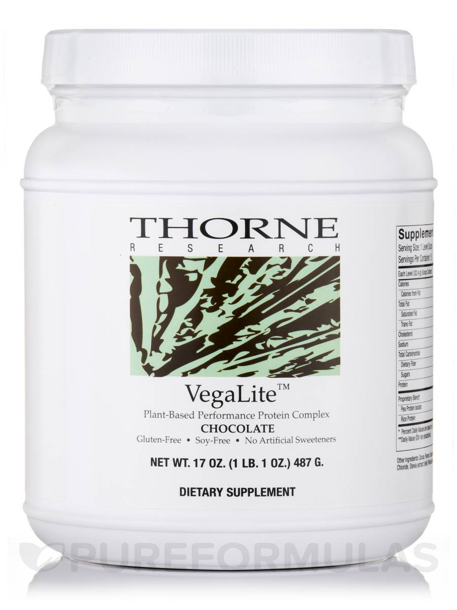 VegaLite™, Chocolate Flavor - 17 oz (487 Grams)