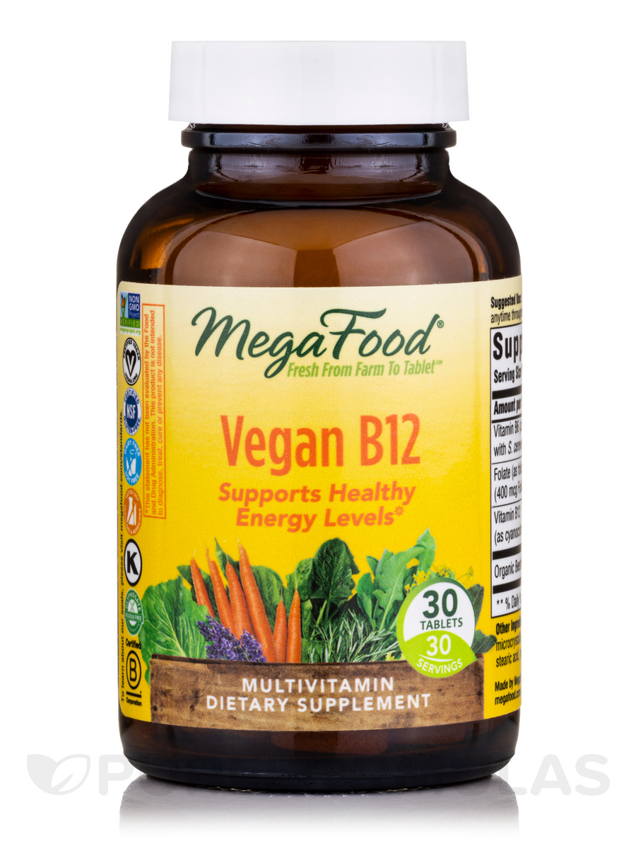 Vegan B12™ - 30 Tablets