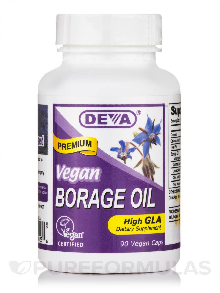 Vegan Borage Oil - 90 Vegan Capsules
