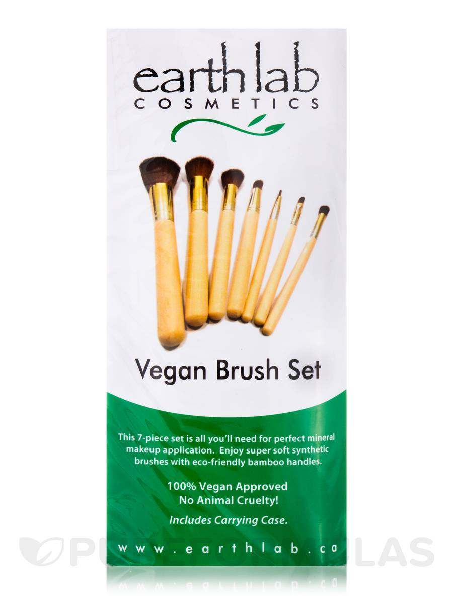 Vegan Brush Set - 7 Pieces