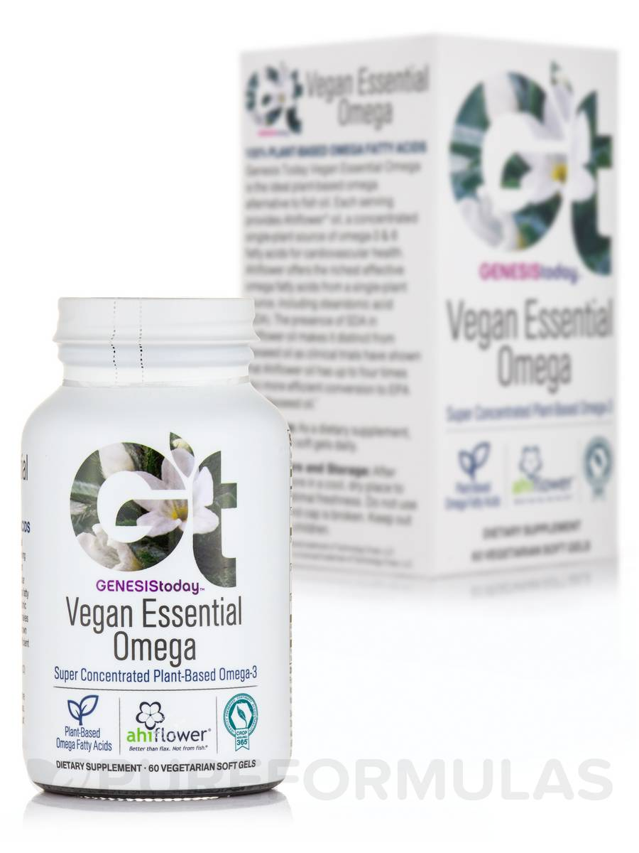 Vegan Essential Omega - 60 Vegetarian Softgels