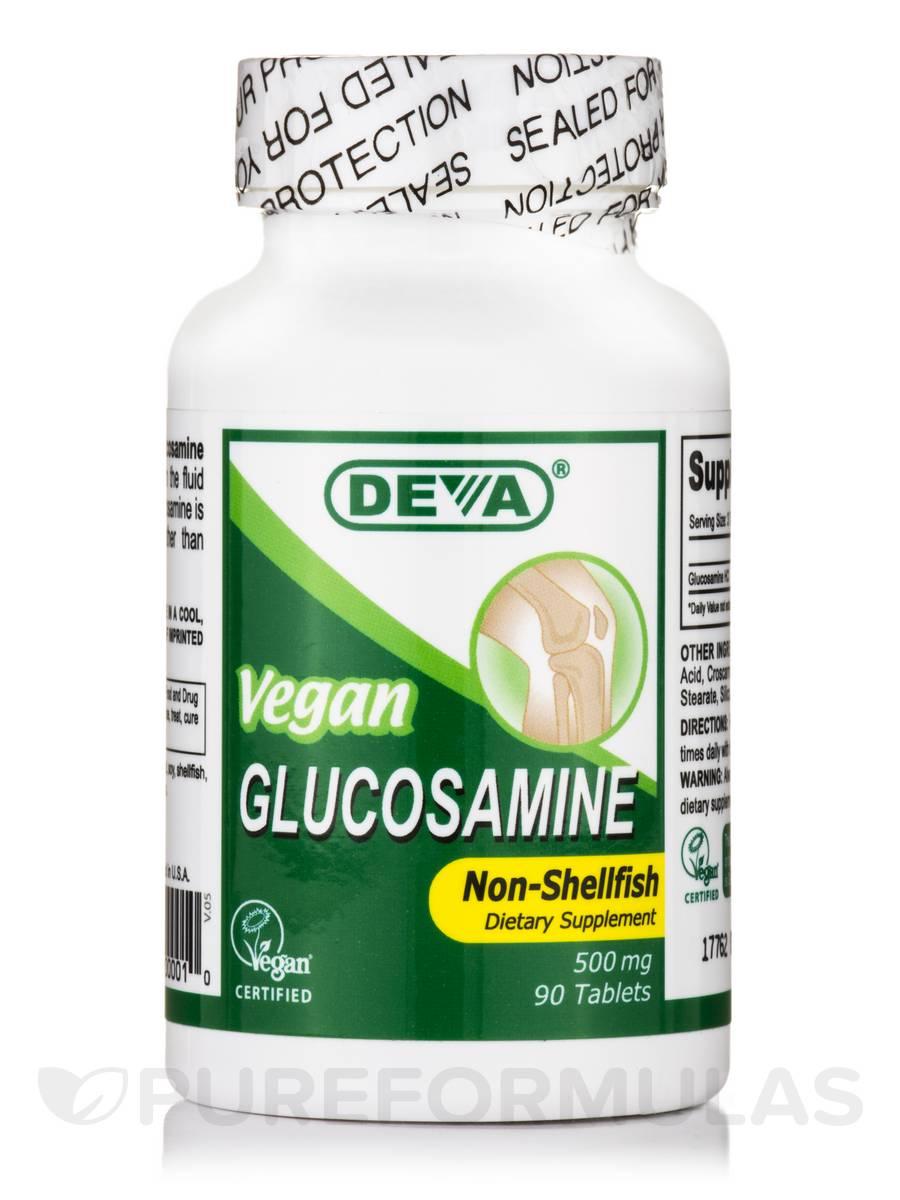 Vegan Glucosamine 500 mg - 90 Tablets