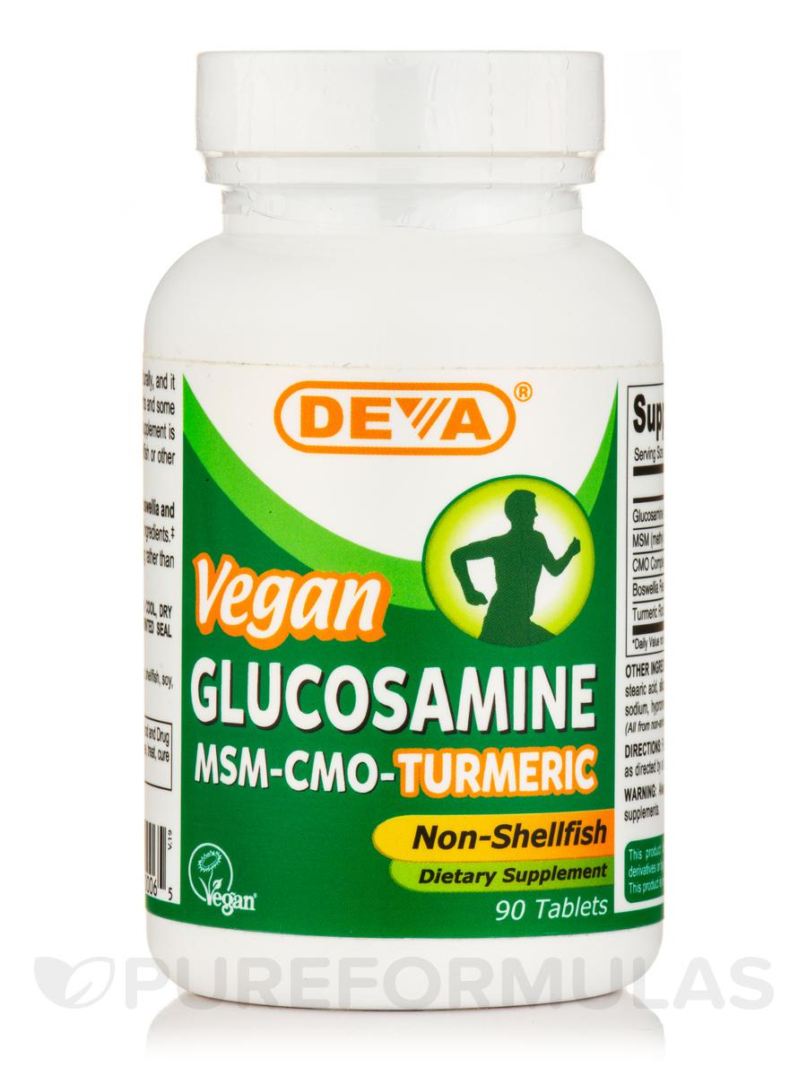 Vegan Glucosamine MSM & CMO - 90 Tablets