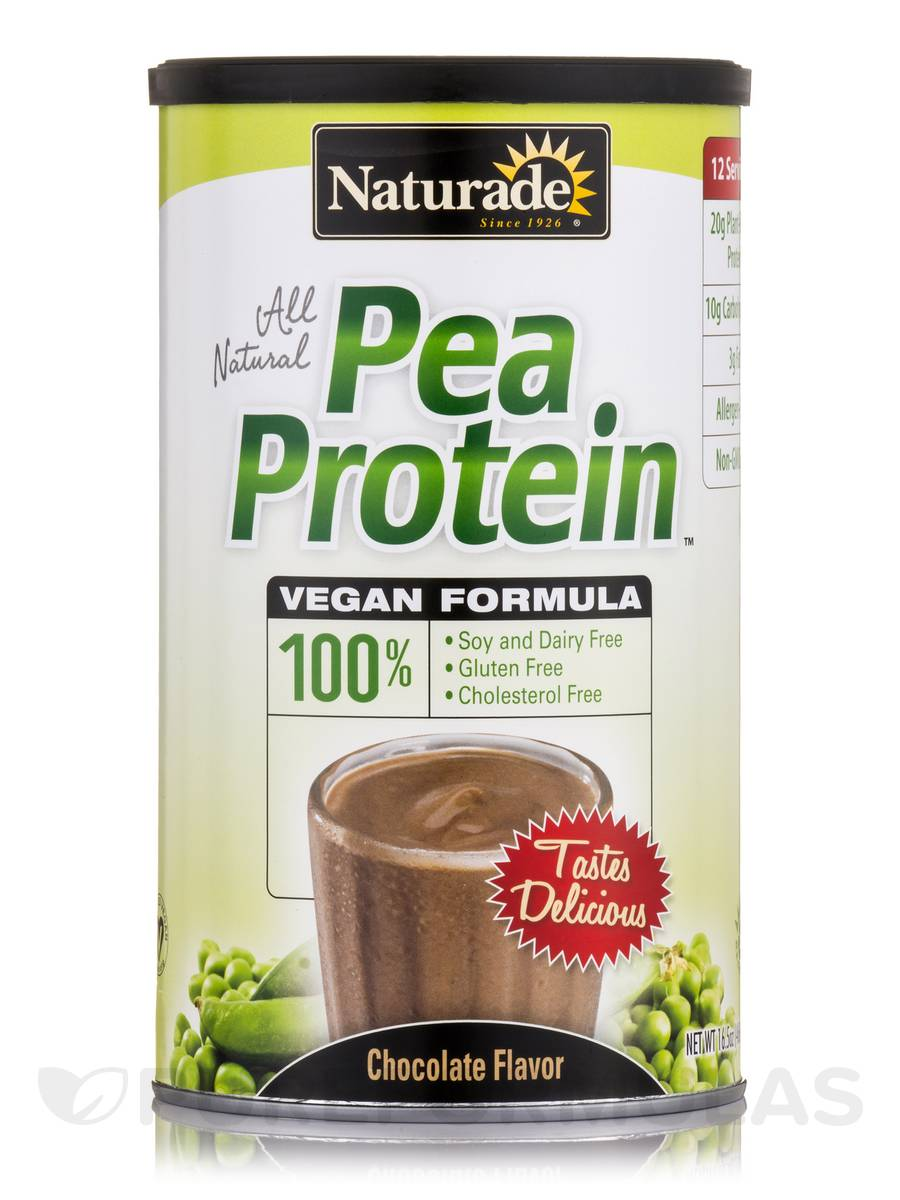 Vegan Pea Protein Chocolate - 16.5 oz (468 Grams)