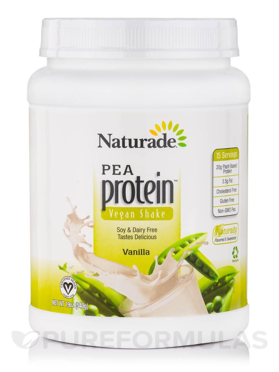 Vegan Pea Protein Vanilla - 19.6 oz (555 Grams)