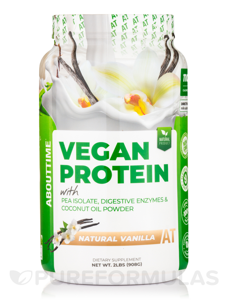Vegan Protein Formula Vanilla Flavor - 2 lb (908 Grams)