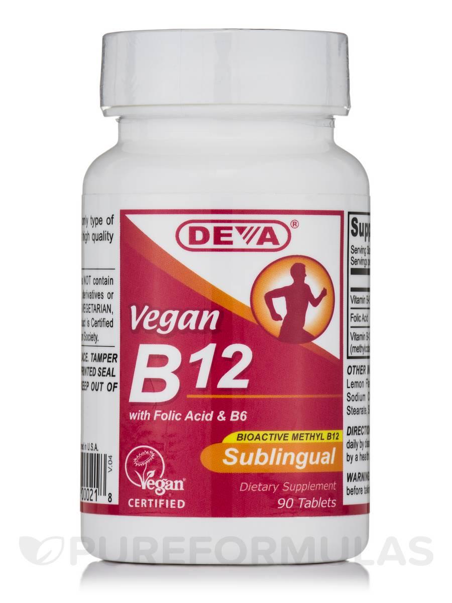 Vegan Vitamin B-12 - 90 Sublingual Tablets