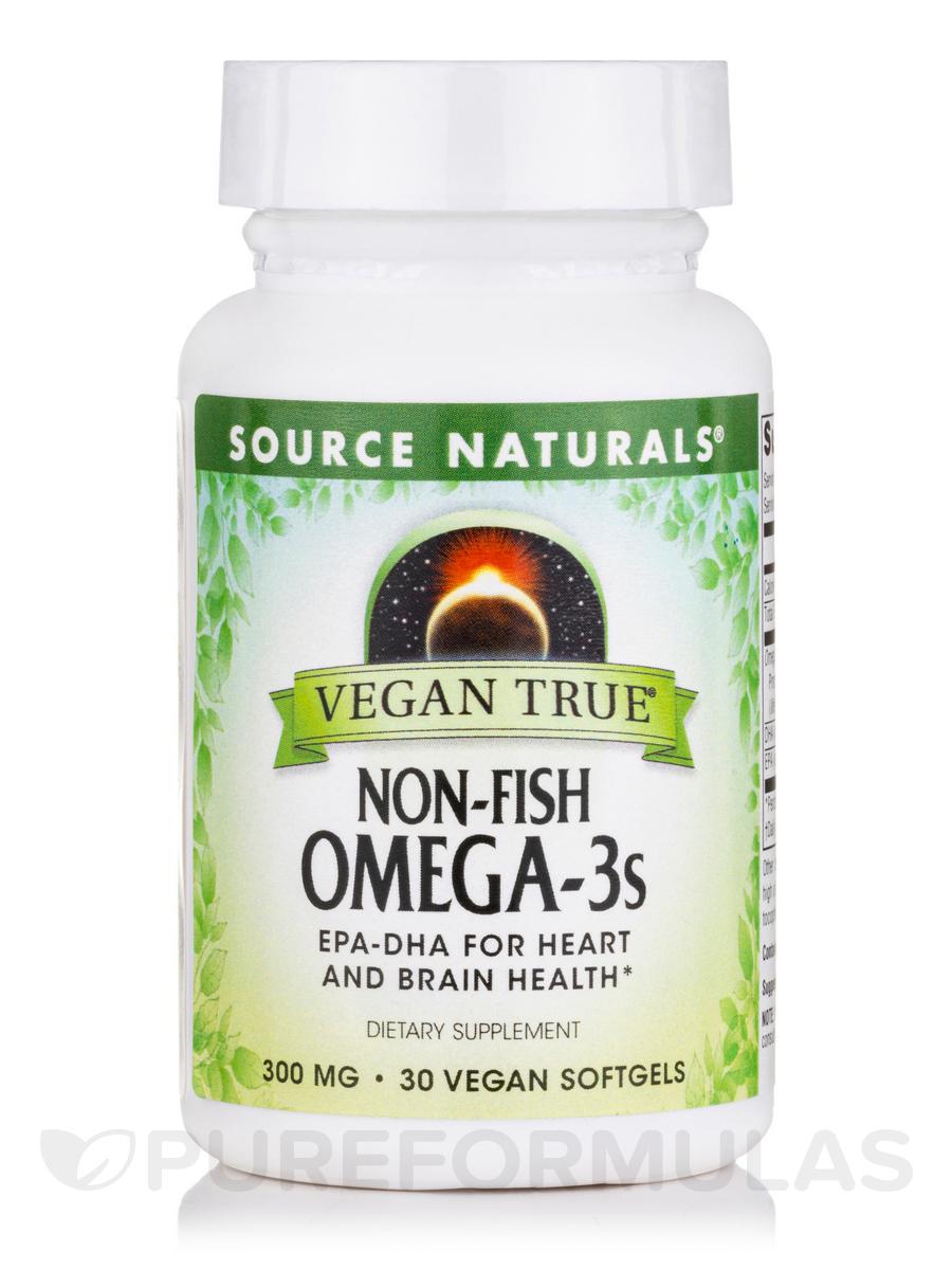 Vegan true non fish omega 3s 30 vegan softgels for Non fish omega 3