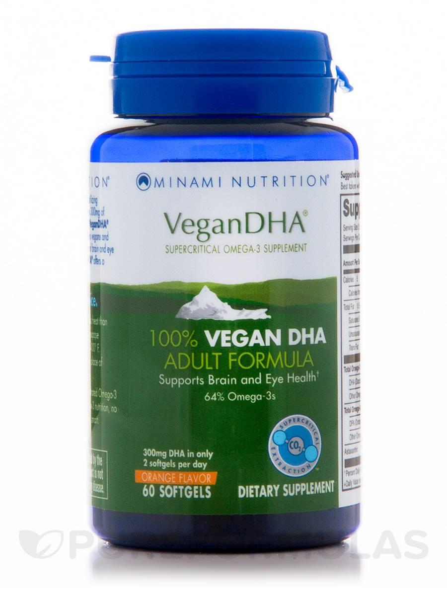 VeganDHA® – Orange Flavor - 60 Softgels