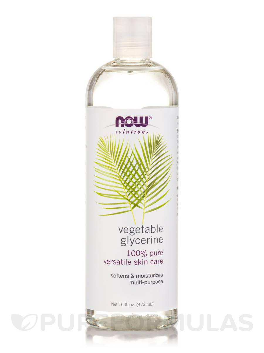 NOW® Solutions - Vegetable Glycerine - 16 fl  oz (473 ml)