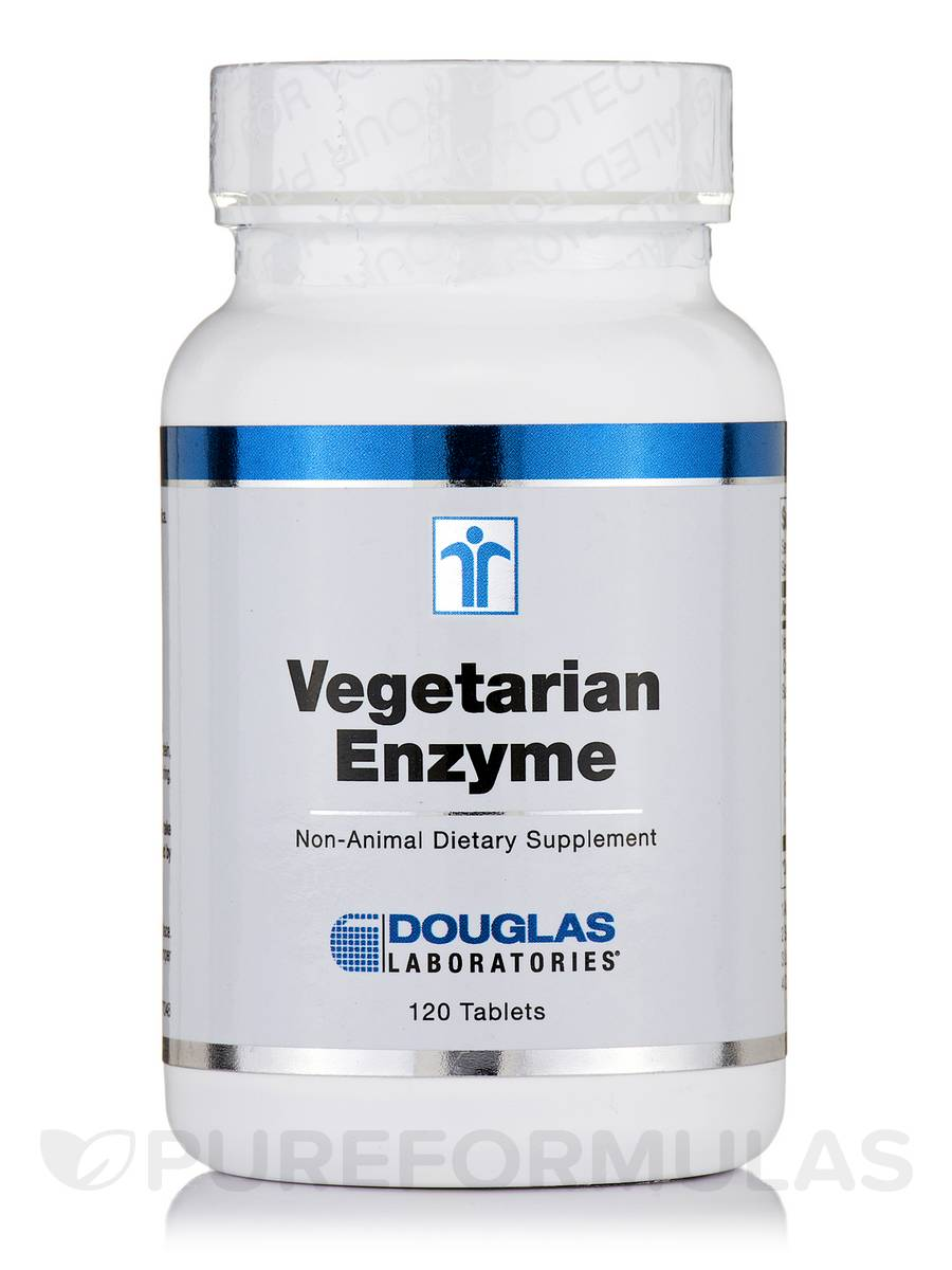 Vegetarian Enzyme - 120 Tablets