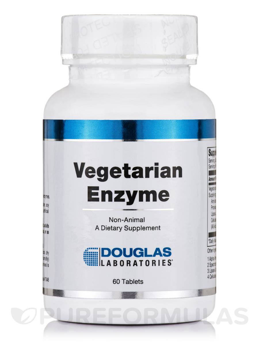 Vegetarian Enzyme - 60 Tablets