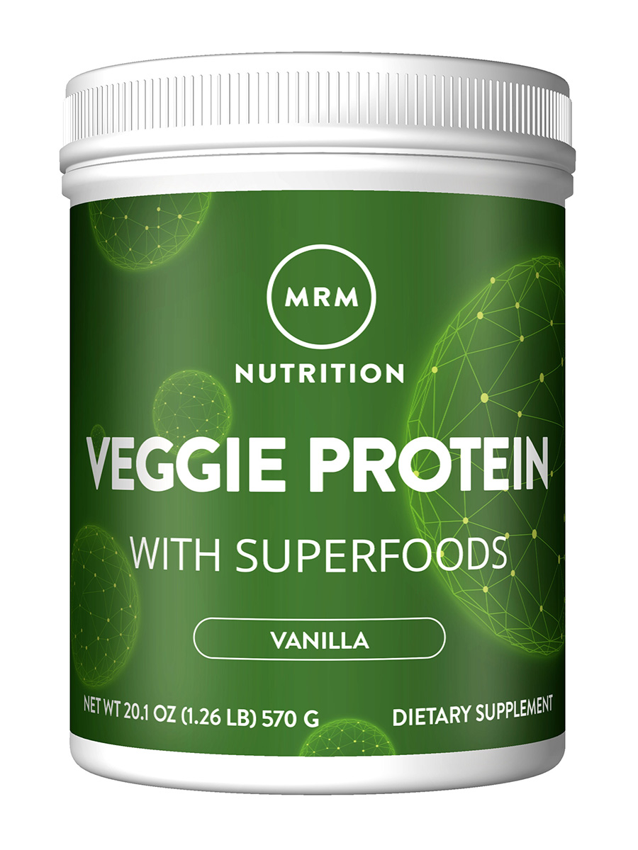 Veggie Protein with Superfoods, Vanilla Flavor - 20.1 oz (570 Grams)