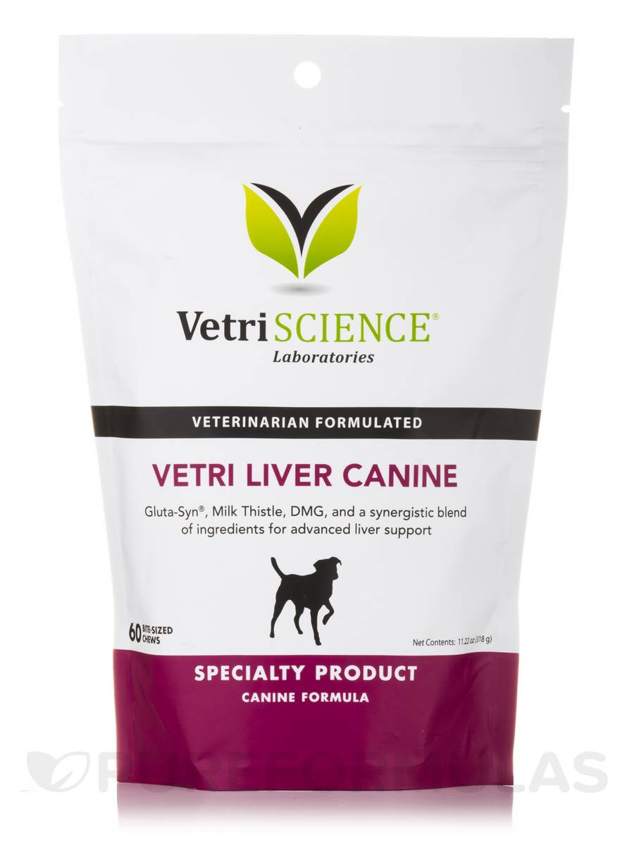 Vetri-Liver Canine - 60 Bite-Sized Chews
