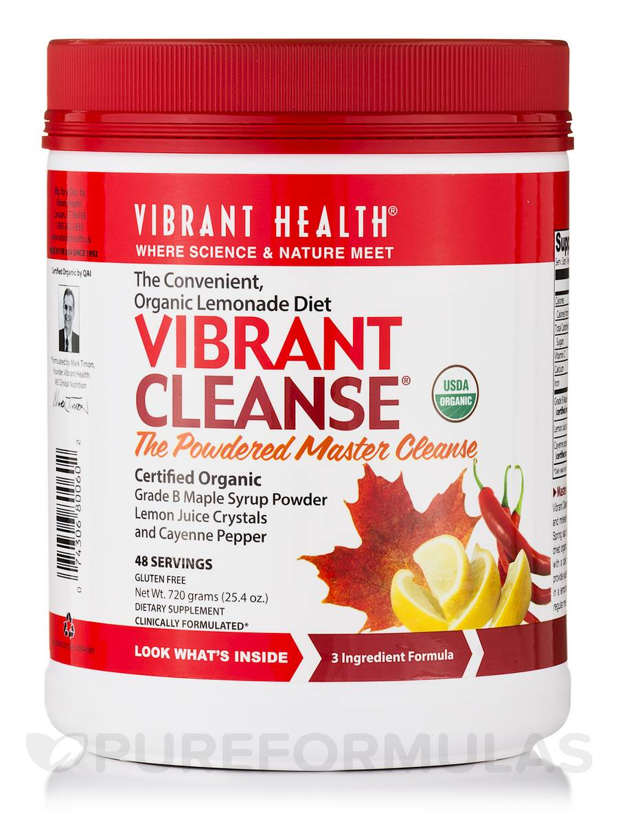 Vibrant Cleanse® Powder 48 Servings - 25.4 oz (720 Grams)