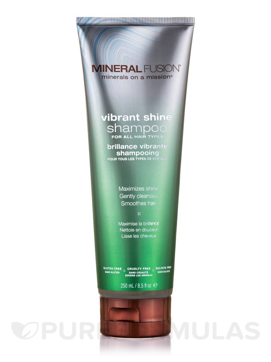Vibrant Shine Shampoo for All Hair Types - 8.5 fl. oz (250 ml)