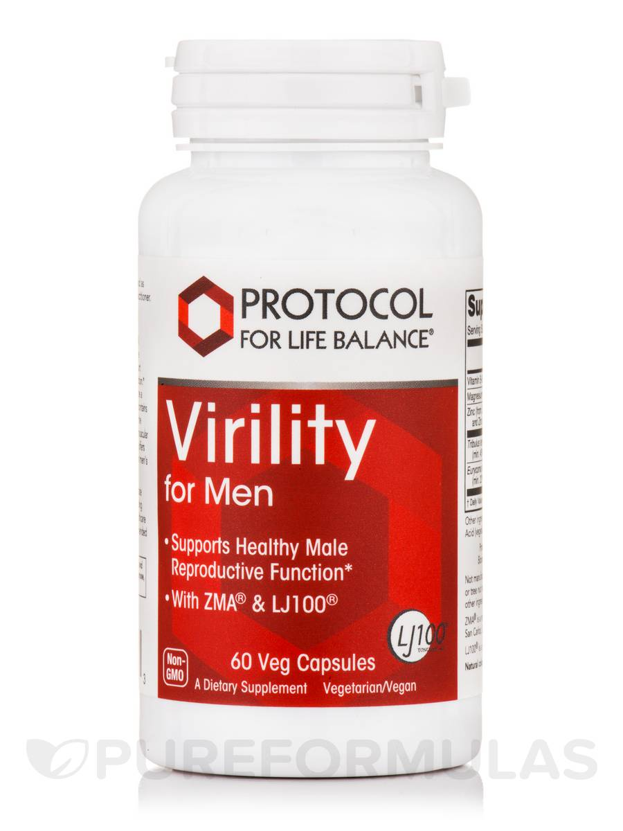 Virility For Men - 60 Veg Capsules
