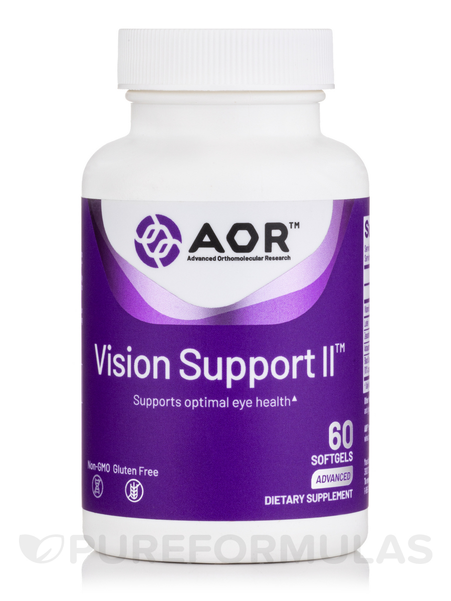 Vision Support II - 60 Softgels