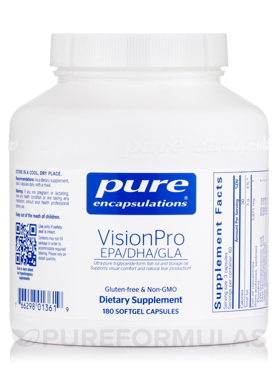 VisionPro EPA/DHA/GLA - 180 Softgel Capsules