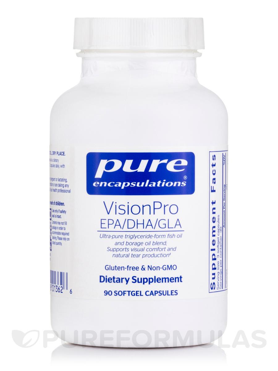 VisionPro EPA/DHA/GLA - 90 Softgel Capsules