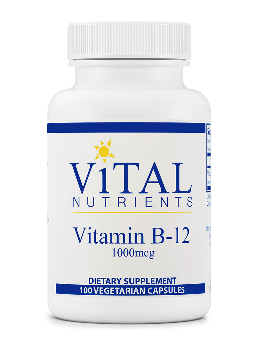 Vitamin B12 1000 mcg - 100 Vegetable Capsules