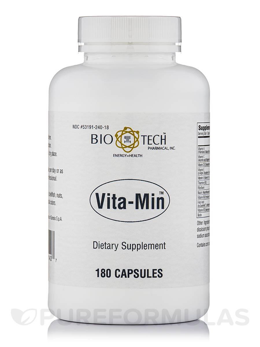 Vita-Min - 180 Capsules