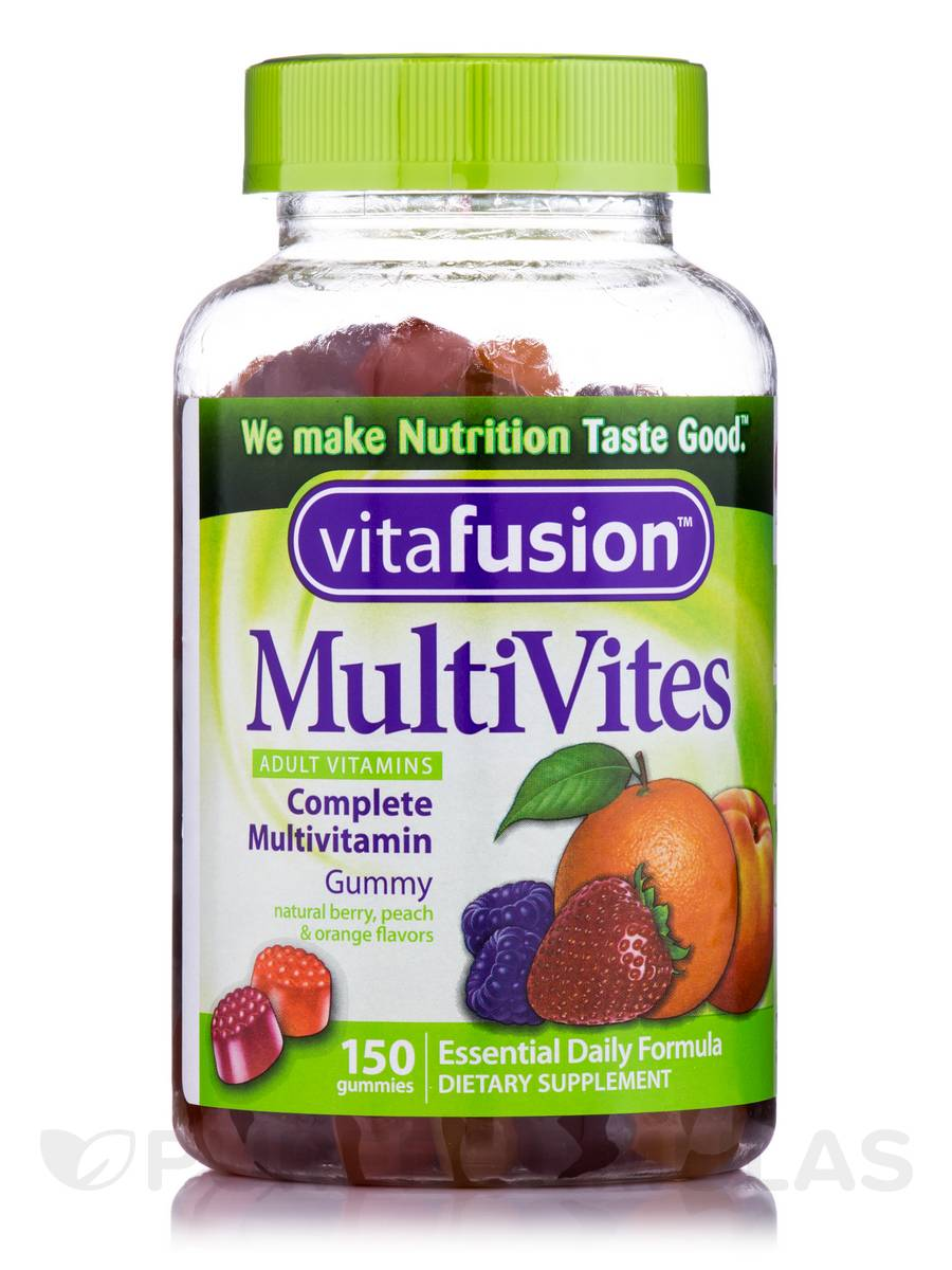 MultiVites Complete Multivitamin Gummy (Assorted Flavors) - 150 Gummies