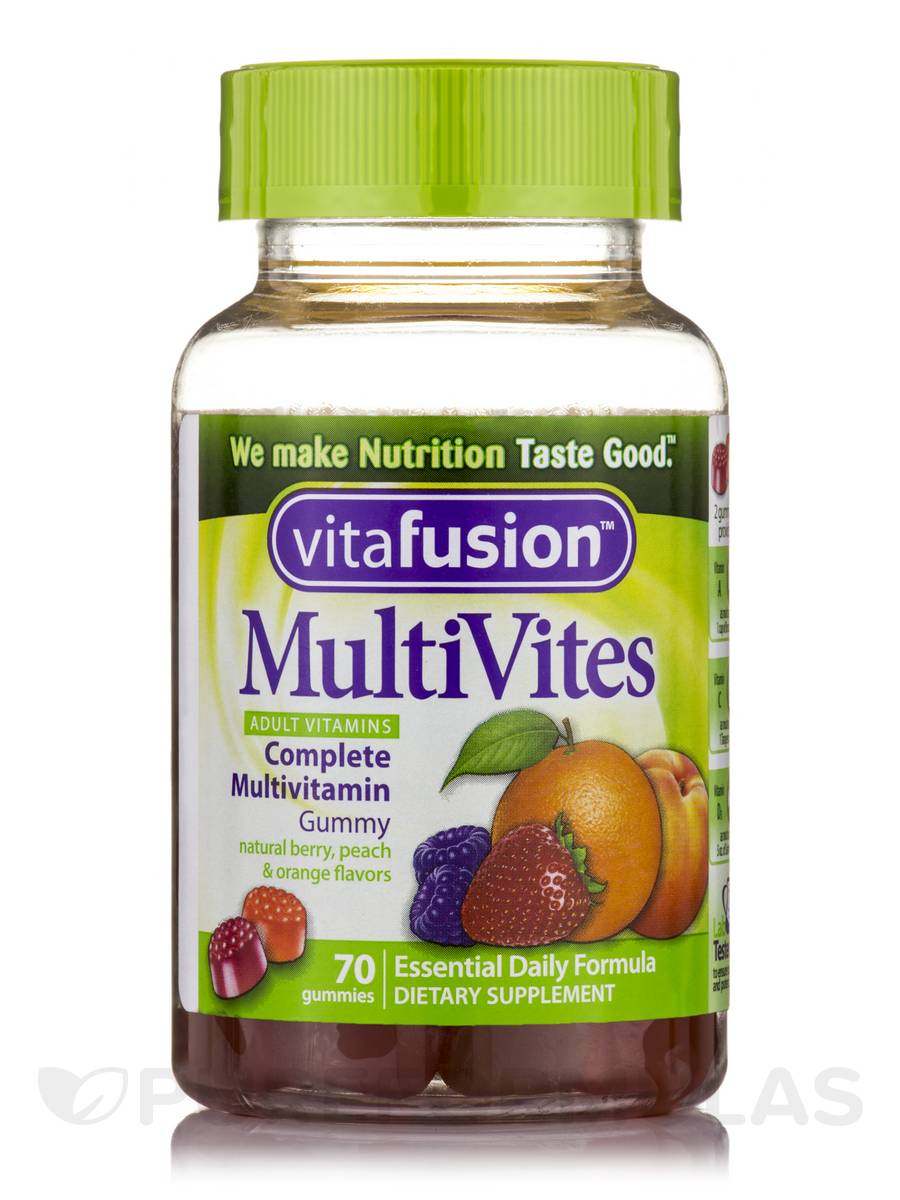 MultiVites Complete Multivitamin Gummy (Assorted Flavors) - 70 Gummies