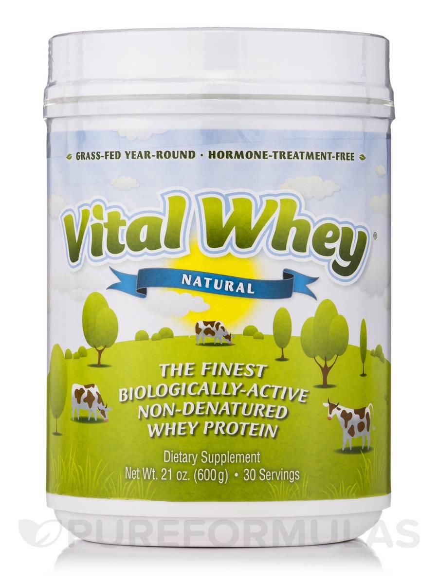 Vital Whey Natural Flavor - 21 oz (600 Grams)