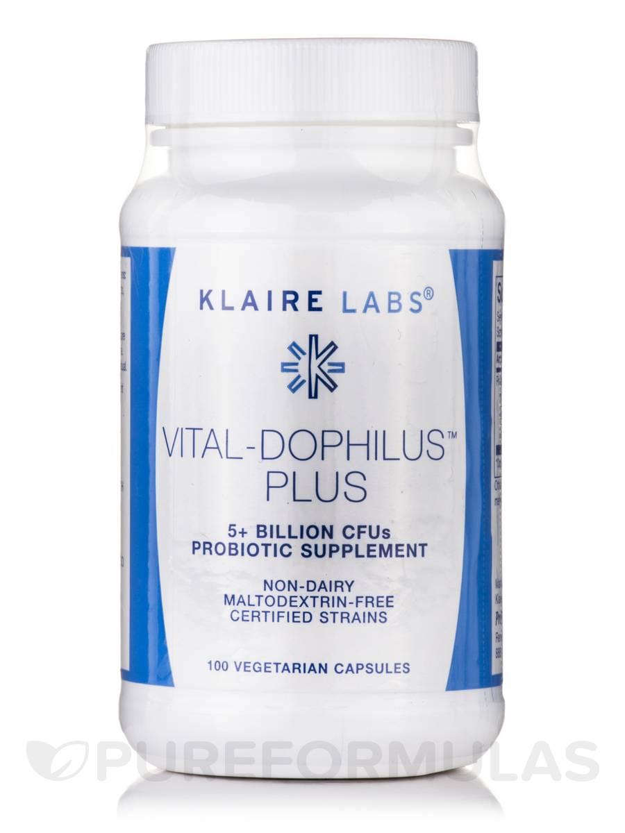 Vital-Dophilus Plus - 100 Vegetarian Capsules