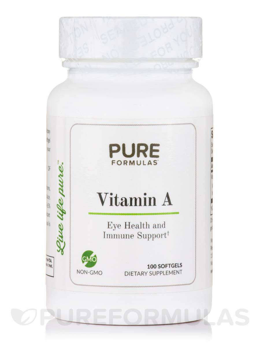 Vitamin A - 100 Softgels