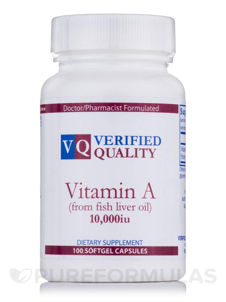Vitamin A 10,000 IU - 100 Gels