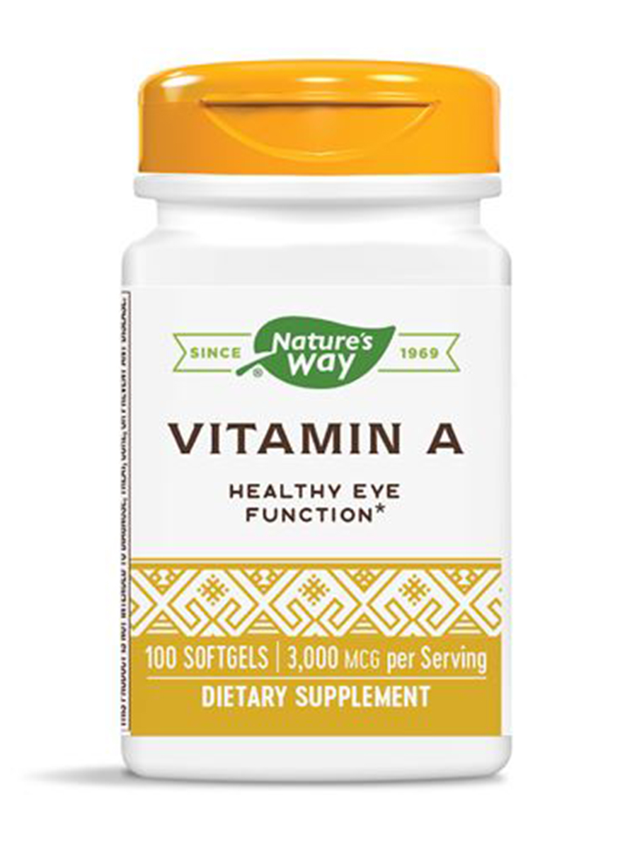 Vitamin A 10000 IU - 100 Softgels
