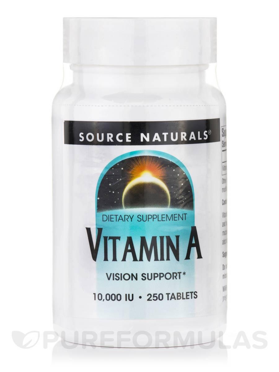 Vitamin A Palmitate 10000 IU - 250 Tablets