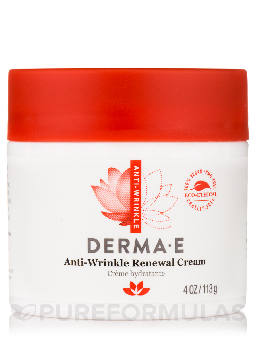 Anti-Wrinkle Renewal Cream - 4 oz (113 Grams)
