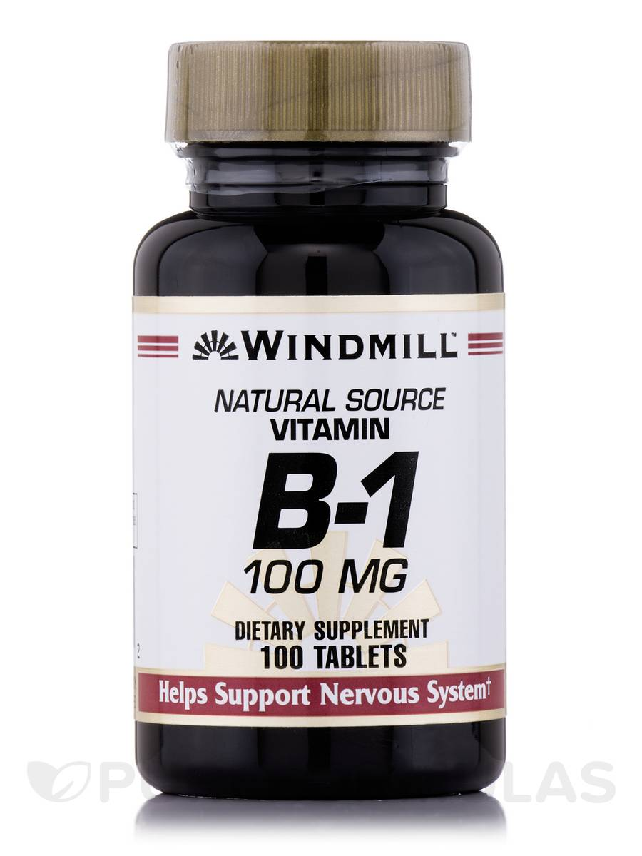 Vitamin B-1 100 mg - 100 Tablets
