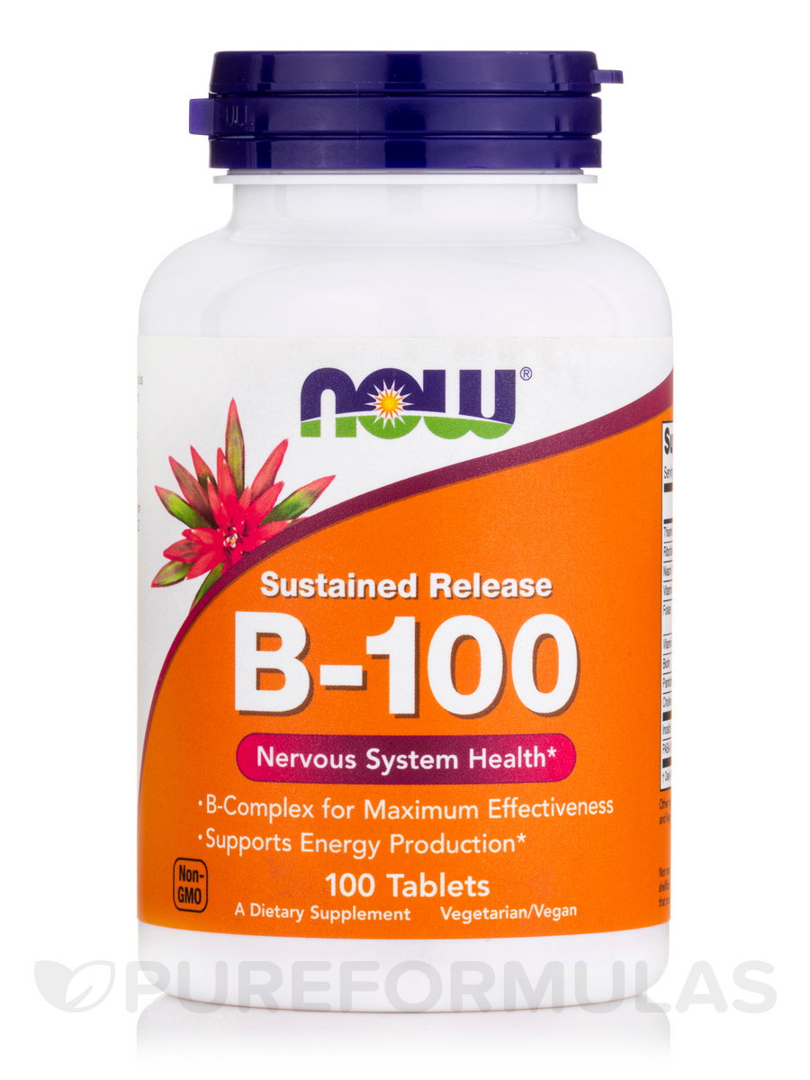 B-100 (Sustained Release) - 100 Tablets