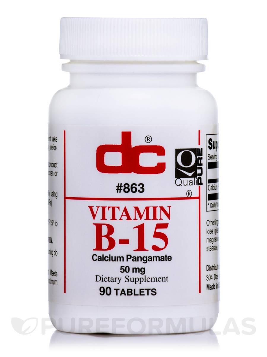 Vitamin B15 - 90 Tablets